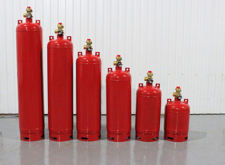 Баллоны вместимостью 40, 60, 80, 100, 120, 140 литров